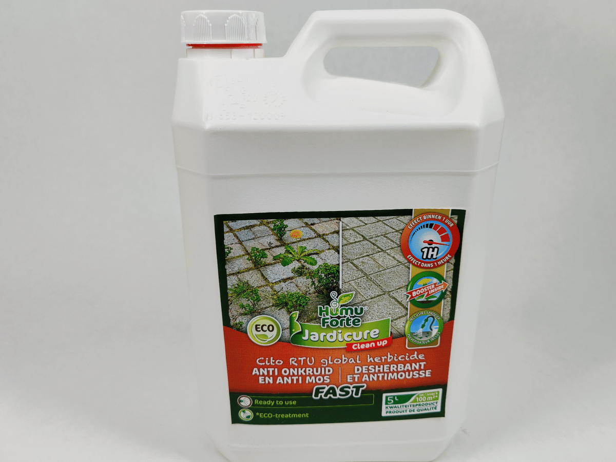 HumuForte Jardicure Celan up Fast, Ready to use 5 l